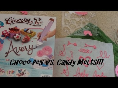 Real Cooking Chocolate Pen vs. Wilton Candy Melts! Full Review & Tutorial!