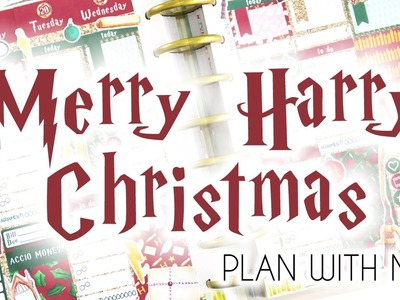 VIDMAS DAY 21. Merry Harry Christmas Plan With Me!. PopFizzPaper