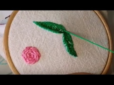 Embroidery stitches by hand for dresses | hand embroidery for beginners | hand embroidery letters