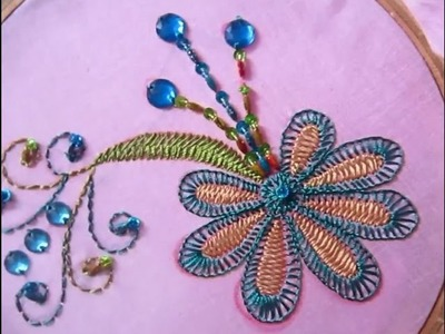 Hand Embroidery Designs | Hand embroidery for dress | Stitch and Flower-67