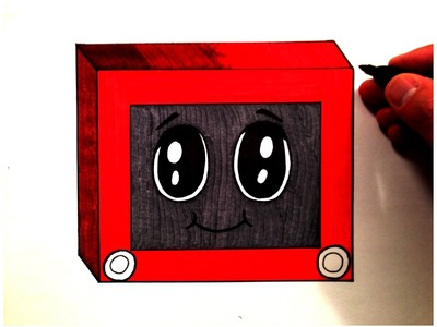 How to Draw a Cute Etch A Sketch