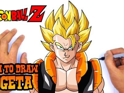 How to Draw Gogeta (Dragon Ball Z)- Art Lesson