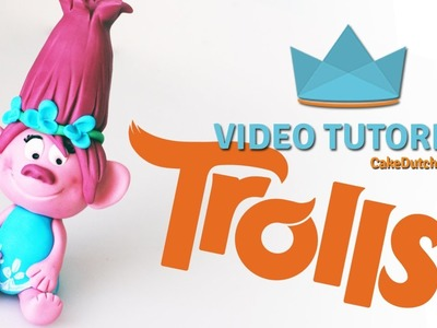 How to make Poppy from Dreamworks Trolls - Cake Decorating Tutorial