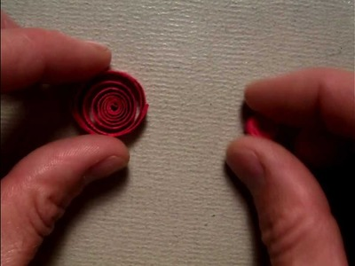 Quilling a coil Close up (Part 4.10).MOV