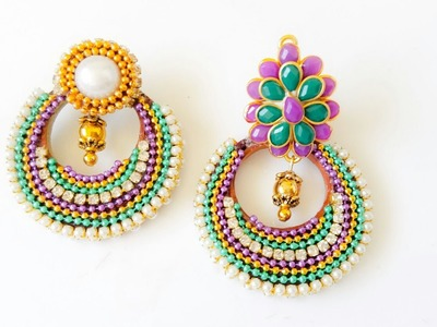 Quilling chandbalis||how to make chandbalis