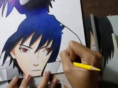 Sasuke Uchiha (Naruto) - Speed Drawing