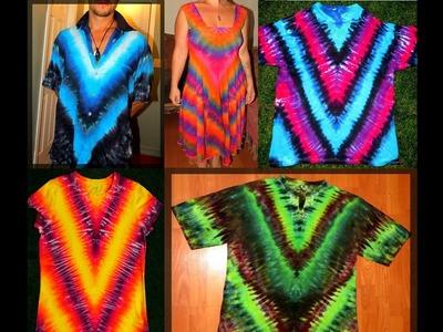 Secrets of Tie Dye: The V (Part 1)