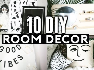10 DIY ROOM DECOR Ideas for 2017! (Tumblr Inspired) Minimal & Easy! ✂️