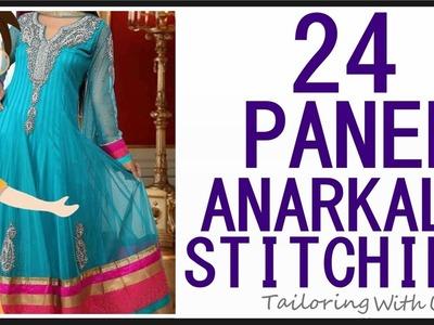 24 Panel Anarkali Stitching | DIY - Tailoring With Usha