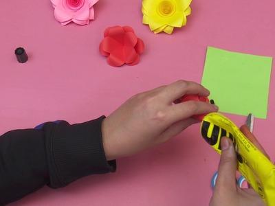Diy  Paper Flower For Home Decor Diy Craft  Easy To Make