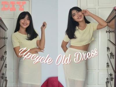 DIY Sew ! Ways to upcycle old dress   bahasa   Aldilla Bintan