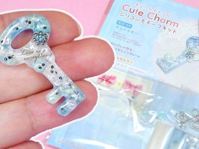DIY UV Resin Key Charm Kit