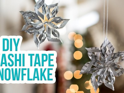 How to Craft a Duck Washi® Tape Snowflake