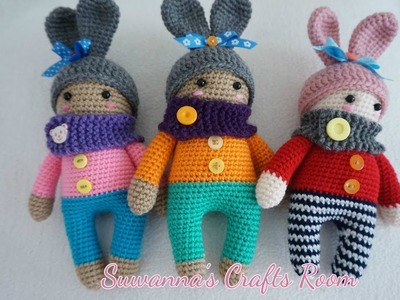 How to crochet cute doll