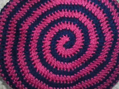 How to Double Crochet in a Continuous Round