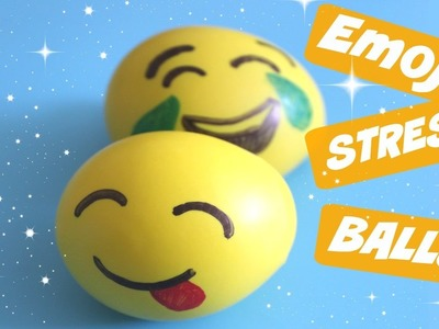 How to make an emoji stress ball craft