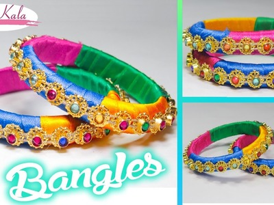 How to make bangles at home | Easy and Simple  | DIY| Artkala