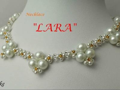 How to make beaded necklace LARA