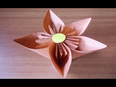 How to Make Simple Paper Flowers  !  beautiful flowers