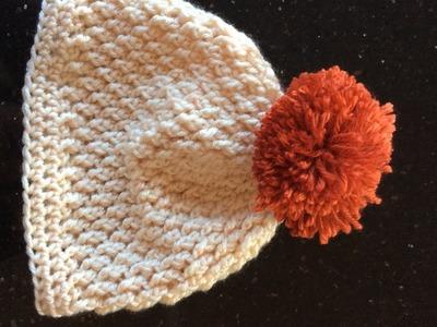 January Hat Crochet Tutorial