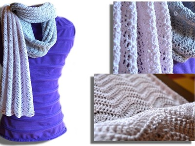Passion scarf crochet pattern - Woolpedia®