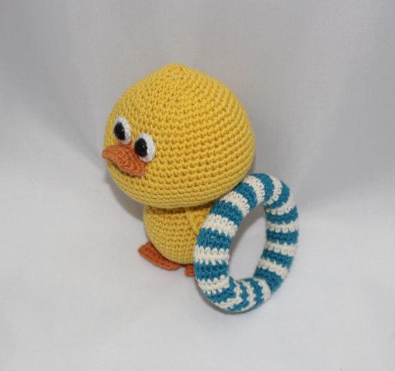 Amigurumi To Go Duck : Amigurumi Ducky duck - PDF-PATTERN - iremdesign. This is a ...