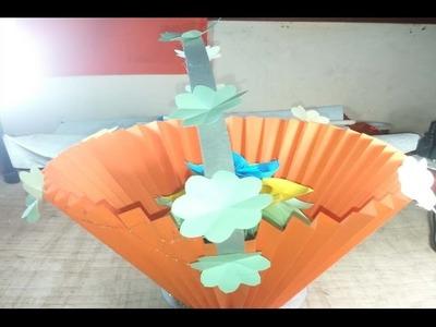 DIY Paper Basket- How to Make Easy  Basket & Origami basket