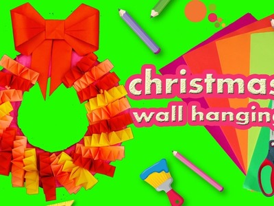 Diy Paper Wreath For Home Decoration Home Decor Idea