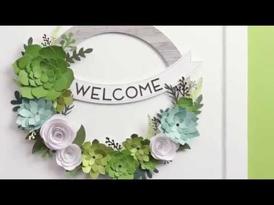 DIY Succulent Wreath Kit from Close To My Heart