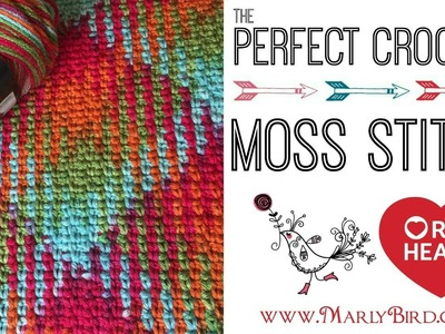 How to Crochet Moss Stitch