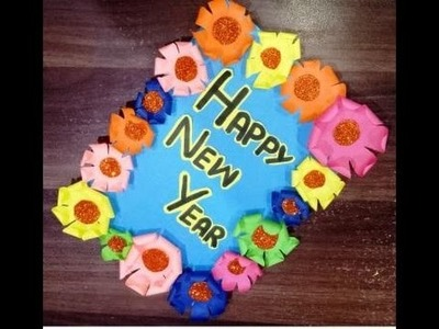 HOW TO MAKE A NEW YEAR CARD