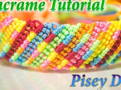 How to make macrame  easy Bracelet  tutorial , Friendship DIY Projects