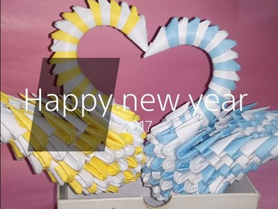New year special 2K17.  video  paper crafts   3d paper crafts we do creations  
