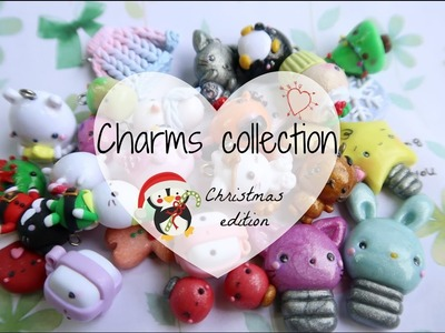 Polymer Clay Charm Update  - Christmas edition
