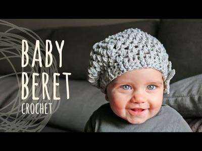 Tutorial Crochet Baby Beret