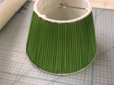 How to make a Custom Lamp Shade: Custom Handsewn Lamp Shade