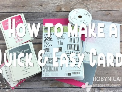 How to Make a Stampin' Up! Cake Crazy Pink & Silver Cards - Episode 548