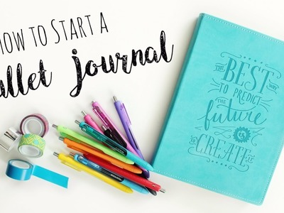 How to start a Bullet Journal. DIY Planner. Veronica Marie