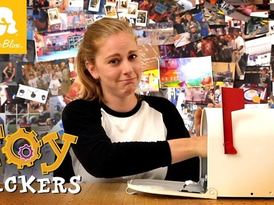Mailbox Alarm, Toy Hackers How-To-Build (feat: Simone Giertz)