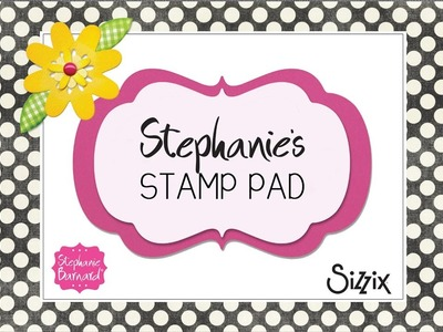 Stephanie's Stamp Pad #62 - How to Make a Flower Doodle Stand-up Card