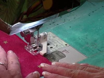 Double-sided Satin Stitch Edged Napkins - Episode 16