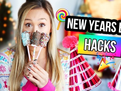 HACKS & DIYS FOR NEW YEARS EVE 2016