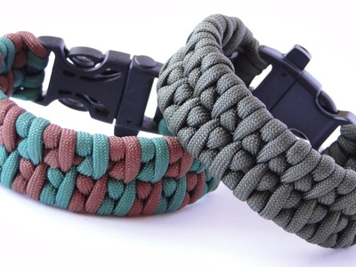 How to Make a Borneo Fishtail Paracord Survival Bracelet with Whistle