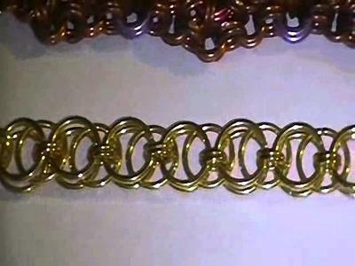 Items: #020-023 Chainmail Bracelets