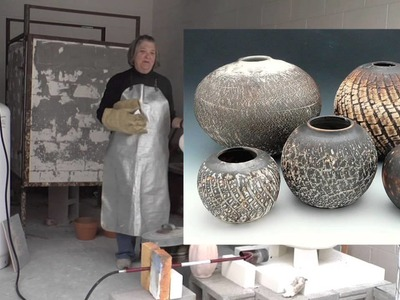 Making a Crackly Surface for Obvara Firing | MARCIA SELSOR