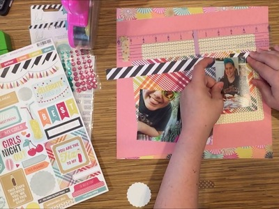 Scrapbooking Process Video: Simply Good Times