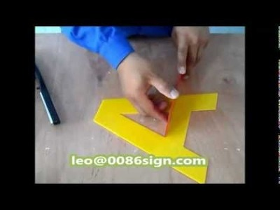 Acrylic bender-3D led channel letters sign-perspex hot bend-make plastic sign-diy channel light