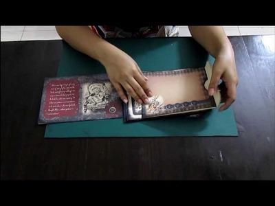 AIW Mini album with Hidden Hinge binding part 1
