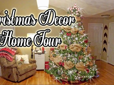 Christmas Home Decor Tour   2016