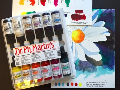 Dr. Ph. Martin's Hydrus Liquid Watercolors